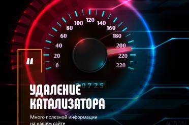 Удаление катализаторов в Москве и установка Пламегасителя.